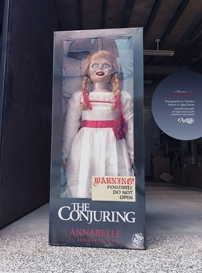 ArtLife @ Annabelle The Conjuring Lifesize 厲陰宅 安娜貝爾 電影道具收藏