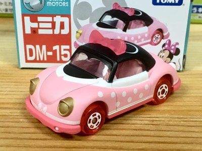 TOMICA (DISNEY) DM-15 米妮粉紅小龜