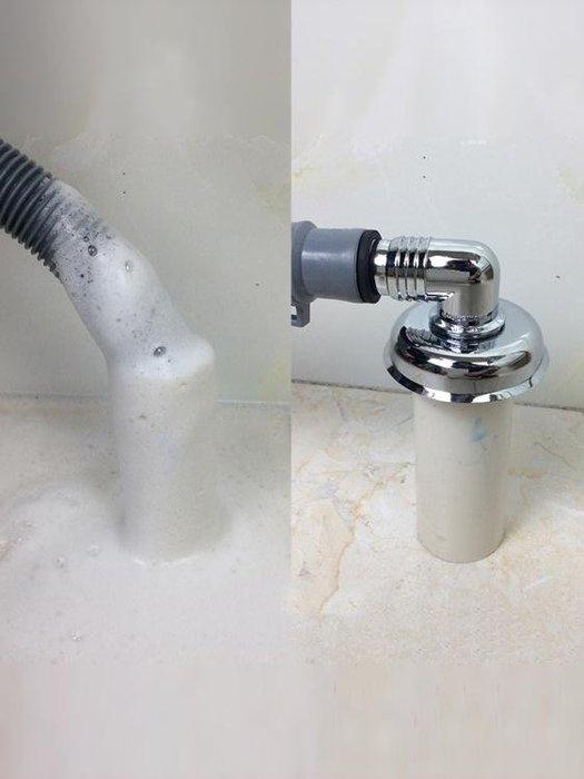 洗衣機下水管排水管專用防溢水下水道防臭蓋地漏芯三通接頭