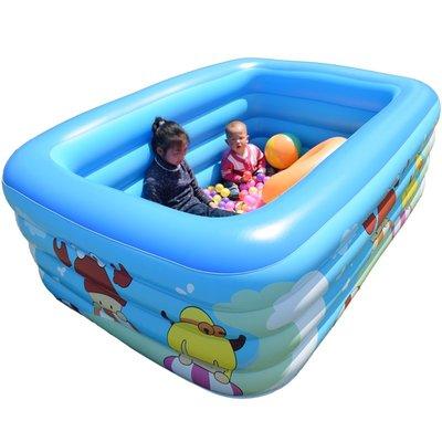 免運可開發票-兒童游泳池充氣家庭嬰兒洗...