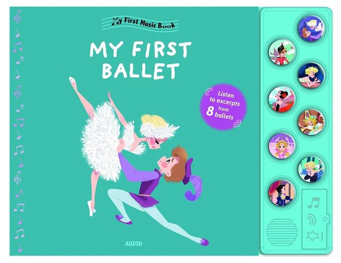 *小貝比的家*MY FIRST BALLET /硬頁/3~6歲/聲音書