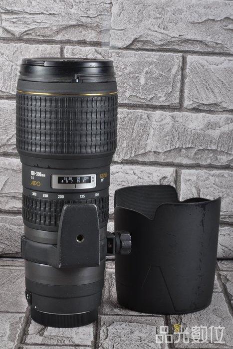 【品光數位】SIGMA 100-300mm F4 EX APO HSM IF FOR CANON #52651A