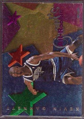 95-96 HOOPS GRANT'S ALL ROOKIES #AR6 KEVIN GARNETT