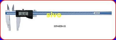 """☆SIVO電子商城☆電子卡尺 游標卡尺ACCUD 119-020-11 20""""/ 500mm/0.01mm"""