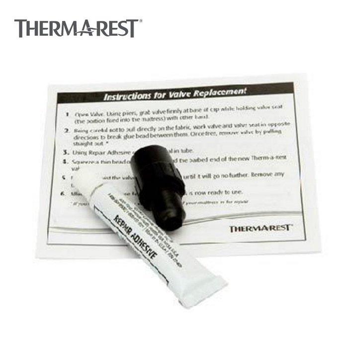 【大山野營】Therm-A-Rest 05498 充氣閥修補組 修補膠 充氣床充氣睡墊用