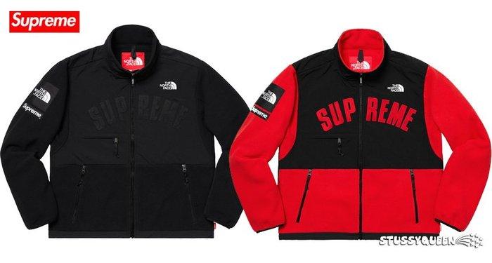 【超搶手】19 Supreme The North Face Arc Logo Denali Fleece Jacket