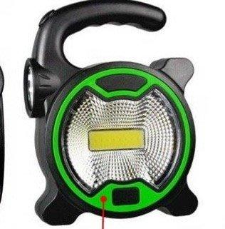 全新T-915手提照明燈 COB+1 LED 露營燈