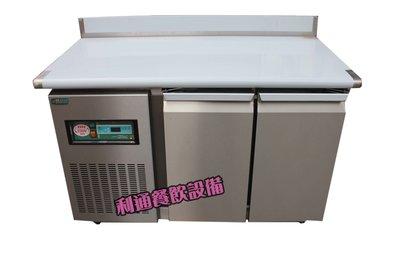《利通餐飲設備》RS-T004 四尺工作台冰箱 (上開式把手) 台灣製造 4尺工作台冰箱 臥室冰箱 瑞興無霜冰箱