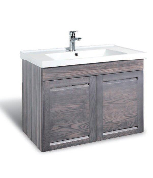CORINS 雙風采洗灰 CD-R-80 防水發泡板檯面盆浴櫃