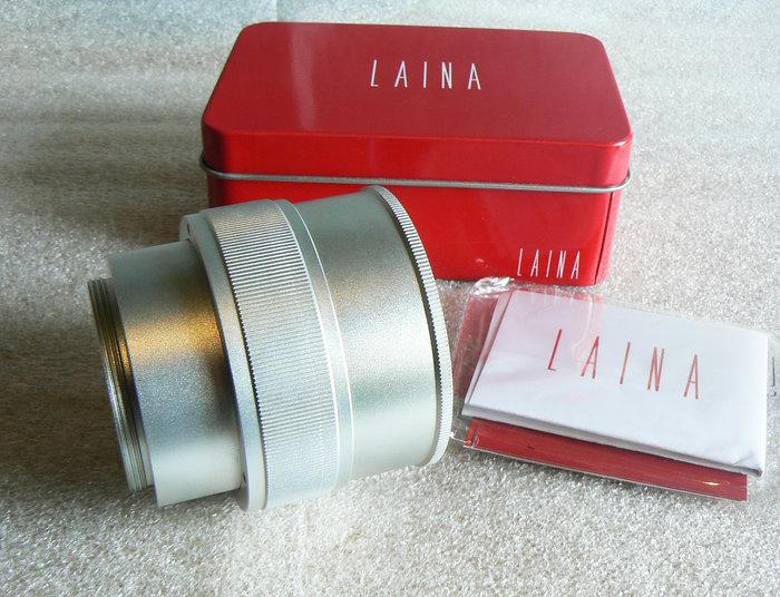 【悠悠山河】LAINA 徠納精品 銅軸 M42-NEX A7 E口 近1:1微距調焦轉接環 M42 25mm-55mm改