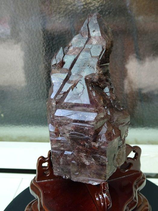 ~shirley ~國家寶藏~真品super seven骨幹水晶~1.6公斤~完整滿絲~能量爆衝~收藏極品!