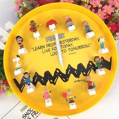 [現貨] GS25限量版🇰🇷史奴比Snoopy×樂高Lego 掛牆鐘