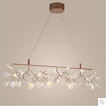 【光之家】2017創意螢火蟲燈網咖樹枝葉子吊燈 現代簡約吊燈