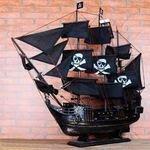 【帆船模型-黑珍珠號80-長80*16...