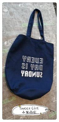 Sweet Girl小米商店✪可重複洗的購物袋-藍色(二手)促銷價