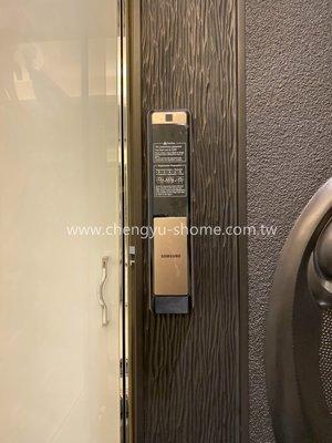 電子鎖 SAMSUNG SHP-DP609 密碼鎖 指紋鎖 大門鎖 門鎖 鎖 yale 7216A 耶魯