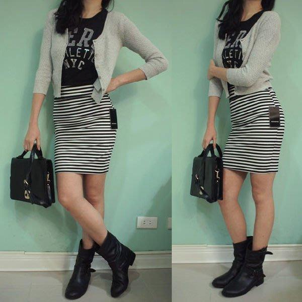 MISHIANA 休閒品牌 RESERVED 女生休閒款包臀短裙 ( 特價出售)