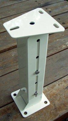 ☆成志金屬廠 ☆ 監視器攝影機不鏽鋼加長伸縮支架,不銹鋼支架