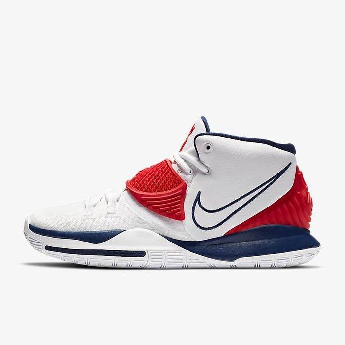 南◇2020 8月 NIKE KYRIE 6 EP XDR 白藍紅 籃球鞋 美國隊 奧運 USA BQ4631-102