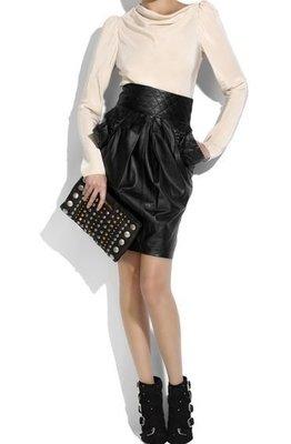 [我是寶琪] 全新未穿 Preen by thornton bregazzi 黑色皮裙