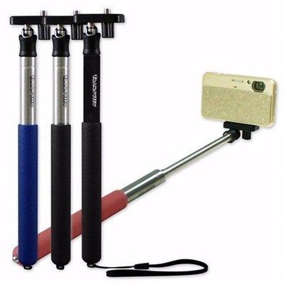 ~ YoYo 3C 相機周邊~五節式 架  鏡 相機腳架 神器  黑 黑銀 紅銀 藍銀 ~可
