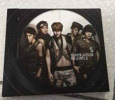 Super Junior第五張專輯《Mr. Simple》台壓版