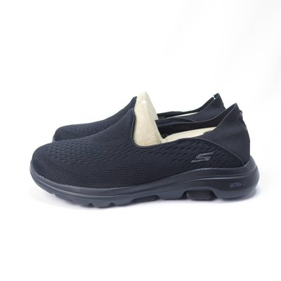 Skechers GO WALK 5 - OUTCLASS 慢跑鞋 15927BBK 女款 黑【iSport】