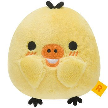 GIFT41 4165本通 新莊店 生活札記 拉拉熊 小雞 粉開心造型 絨毛娃娃 4974413666190