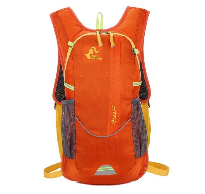 FREEKNIGHT   FK0217OG橘色  12L  休閒/單車/登山背包