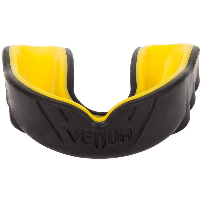 【神拳阿凱】VENUM 挑戰者雙層護齒 盒裝 黑黃 MMA 散打 拳擊(免運)
