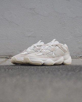 全新公司貨ADIDAS YEEZY 500 BONE WHITE FV3573 Blush Salt Black 復古白男鞋US8-11