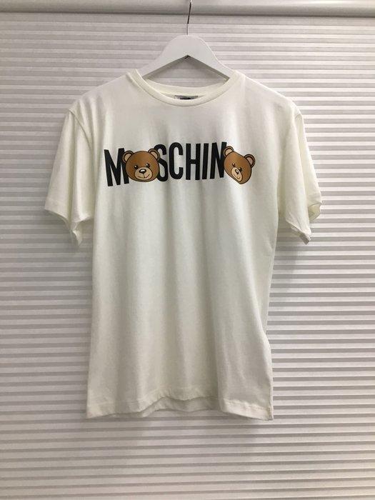 [版大款現貨12.14y] Moschino 童款款熊熊短T 白/黑/粉/紅/藍五色 運費優惠 其他尺寸款式可留言詢問