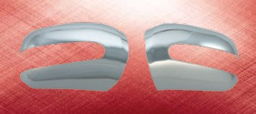 泰山美研社19011814 BENZ 賓士 W220 S350 S500 98-02年 鍍鉻 後視鏡蓋