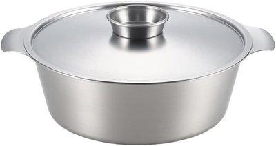 日本代購  YOSHIKAWA 不鏽鋼湯鍋 火鍋 不鏽鋼鍋子 26cm 瓦斯爐 ih爐都可使用 日本製  預購