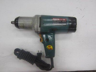 中古/二手 電動套筒板手-4分角-BOSCH-220V-可調速 正反轉-德製-日本外匯機(K207)
