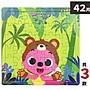 Pinkfong 碰碰狐拼圖 42片拼圖 PUZ0115 (中...