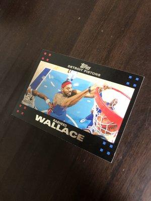 RASHEED WALLACE   2007 TOPPS 50紀念卡 30 卡片如圖
