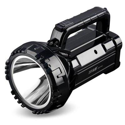 久量LED強光手電筒可充電探照燈超亮戶外巡邏多功能手提礦燈家用