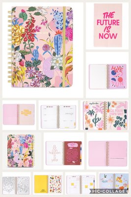 (預購)BANDO Garden Party 13-month planner 中款行事曆2018-2019