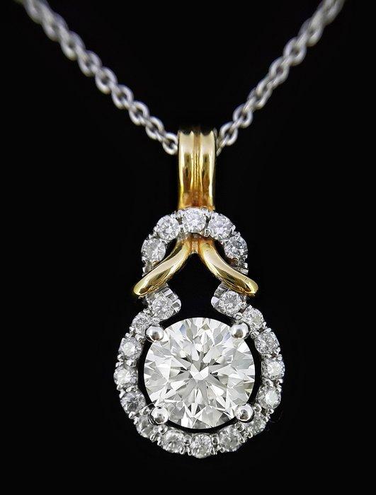 天然鑽石墜鍊 2.01 克拉
