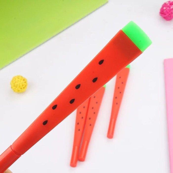 超可愛的西瓜筆 西瓜造型中性筆