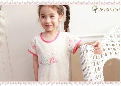。~ 寶貝可愛 ~。韓國精選WithOrganic,長髮公主有機棉居家服套裝JR。2019春夏新品預購