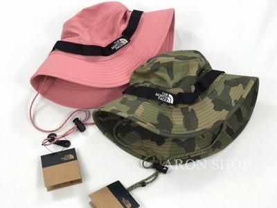 【ARON】The North Face bucket hat 漁夫帽 登山 北臉 登山帽 帽子 帽 迷彩 粉 現貨