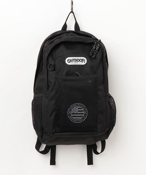 【Mr.Japan】日本限定 outdoor 手提 後背包 書包 大容量 通勤 a4 水壺袋 黑 預購款
