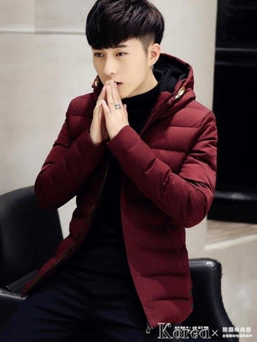 棉服 冬季男士休閒外套棉衣短款韓版潮流棉襖冬裝加厚羽絨棉服