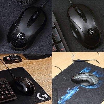 滑鼠羅技MX518有線游戲鼠標經典大手人體工學g400s升級電競專用吃雞CF免運