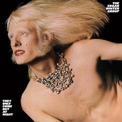 《挖寶區》黑膠唱片 美國 Edgar Winter─They only come out at night 1972
