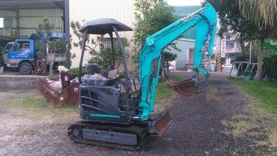 挖土機 怪手 SK15SR-3 原裝鐵履帶膠塊 配管 轉換器 日本外匯車 大廠牌