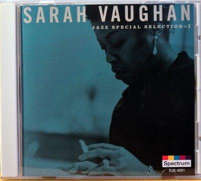 Sarah Vaughan - 特選Jazz 1号 二手日版
