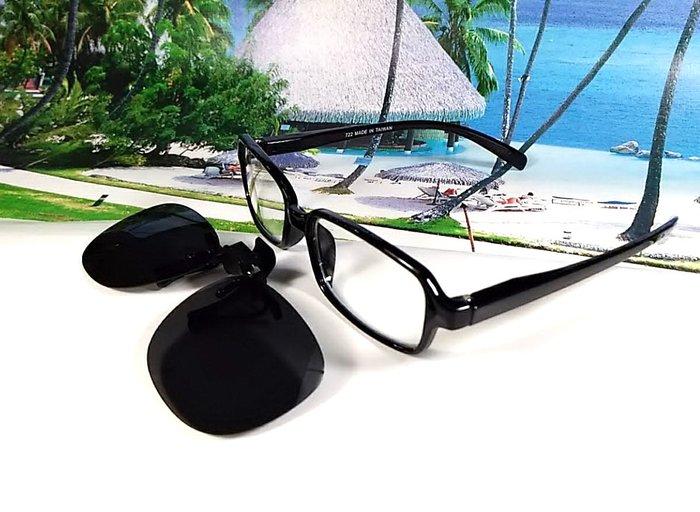 天王星 偏光太陽眼鏡夾片 小型圓款 40MM 掛式太陽眼鏡 輕巧 偏光夾片/ 夾式太陽眼鏡 今夏必備 開車 休閒必備